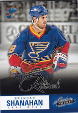 2013-14 PANINI ABSOLUTE BRENDAN SHANAHAN RETIRED BOXING DAY THICK #8