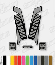 Rockshox reba 2015 2016 style Stickers autocollants - 2 Couleur Pack designer