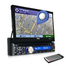 Pyle PLBT71G 7-inch Black GPS and Bluetooth Headunit Stereo Receiver System
