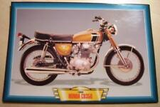 HONDA CB350 CB 350 TWIN K1 CLASSIC MOTORCYCLE BIKE 1960'S PICTURE PRINT 1969
