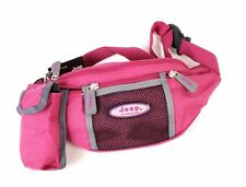 Ladies Hot PinkCanvas Bum Bag By Jeep With Mobile Phone Pouch New And Sealed