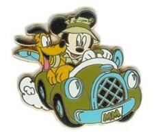 MICKEY Mouse & PLUTO IN CAR GONE FISHIN' #3 Cast Lanyard 2003 WDW DISNEY PIN