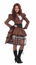 Women's Steampunk Vicky Costume