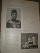 Photo article Khedive Abbas II of Egypt 1902 ref Z