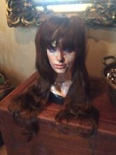 Light Brown Girl Long Wavy Full Wig Heat Resistant Hair Cosplay Party Women #108
