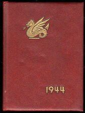 1944 Hartford CT Kingswood School Yearbook~Photos~History~Football~Ads~WWII~++++