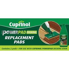 CUPRINOL POWERPAD FOR DECKING REPLACEMENT PADS 6 PACKS 12  PADS - CHEAPEST IN UK