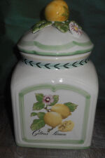Villeroy & Boch Germany French Garden Fleurence Citrus Limon Canister