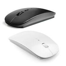 Schlanke 2,4 GHz optische drahtlose Mäuse USB Empfänger für Laptop PC Macbook