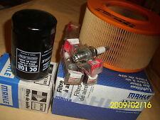 Zündkerzen 3Elektr. Öl+ Luftfilter VW T2 T3 Bus Transporter Pritsche Synchro 2,1