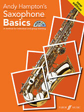 Saxophone Basics Pupils Learn to Play SAX Beginner SONGS FABER Music BOOK & CD