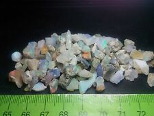 Ethiopian Opal Rough Wello Beautiful Chips Multicolors 110 cts