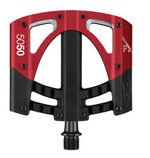 Crank Brothers 2016 5050 3 MTB Mountain Bike Platform Pedals Red/Black