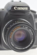 CANON DSLR EOS fit 50mm F1.9 BRIGHT PRIME LENS for DIGITAL EF-S CAMERAS