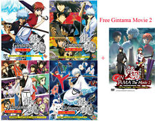 Gintama (TV 1 - 265 End) - 4 Boxes DVD + Free Gift + Free DHL Express to USA