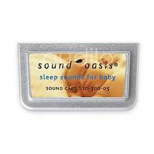 Sound Oasis Sleep Sounds for Baby Card Infant SC-300
