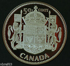 2003 Canada Special edition Proof 50 cent coin - 50 anniv of Queen's Coronation