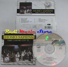 CD HOMO SAPIENS Fare l'amore con te italy CLASSICI ITALIANI 9017 (Xi3)mc lp dvd