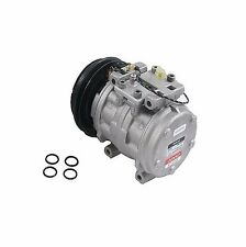 Toyota Pickup 83-88 2.4L A/C Compressor with Single V Groove Clutch DENSO NEW