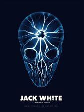 Jack White Justin Erickson Pittsburgh, PA Stage AE Poster 7/27/14 White Stripes