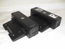 HP Docking Station HSTNN-I11X VB041UT#ABA 581597-001 *LOT of 2* Tested, Wor