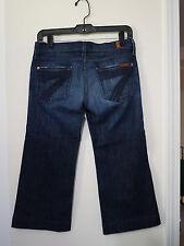 7 for all mankind Crop Dojo Jeans Women size 25