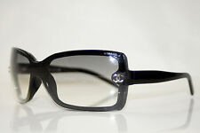CHANEL Womens Designer Black Sunglasses 5065 C501 8G 9645
