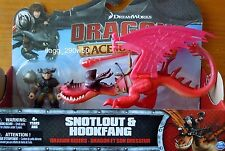*Dreamworks Dragons* SNOTLOUT & HOOKFANG RACE TO THE EDGE DRAGON RIDERS