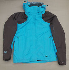 OUTDOOR RESEARCH PERTEX VARIA 3 IN 1 LADIES JACKET BNWOT £250 SIZE 10 WOMENS PRO