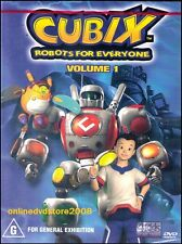 CUBIX - ROBOTS FOR EVERYONE (Volume 1) Kids Animation DVD Region 4