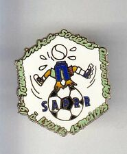 RARE PINS PIN'S .. FOOTBALL SOCCER CLUB TEAM AUTOROUTE SAPRR 1993  LYON 69 ~BN