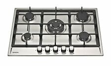SAGA Attic S751CI 70cm Built-in 5 Burner Stainless Steel Gas Hob with FFD