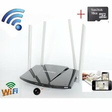 1080P wifi /P2P Home Router Hidden SPY camera Video mini Camera Recorder DVR+16G
