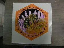 Aufkleber Biene orange,Imker, Imkerei,Top Qualität,bee