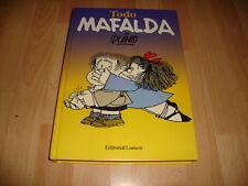 TODO MAFALDA DE QUINO COMIC LIBRO EDITORIAL LUMEN DEL AÑO 1996 EN BUEN ESTADO