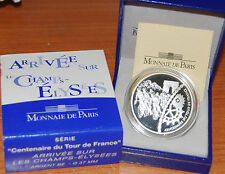 France 2003 Champs Elysees 100 Years TOUR Centenay 1,5 euro Silver Proof 1/2 €