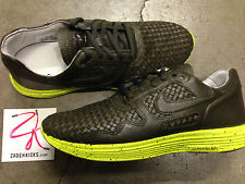 Nike Lunar Flow Woven Leather TZ Sable Green 559969-200 8