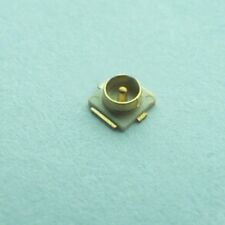 10pcs IPX.ufl male connector antenna element base straight goldplated NEW