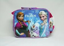 Disney Princess Frozen Elsa And Anna with Snowman Lunch - BRAND NEW Licensed
