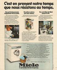 Publicité 1978  Lave linge  MIELE  machine à laver