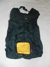 Government Issue US Military Surplus Navy Life Vest Preserver Oral Inflation