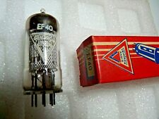 EF40 Triotron  Older box  Mesh Anode New Old Stock Electronic Valve 1PC A17A