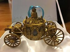 CINDERELLA COACH ORNAMENT Disney Store Live Action Film Christmas Box Holiday