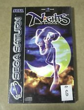 Sega Saturn NiGHTS into Dreams PAL - Brand new sealed in plastic