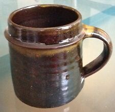 CLIVE BOWEN STUDIO POTTERY SLIPWARE MUG LEACH-CARDEW rare marked