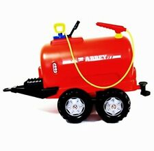 New Rolly Toys Pedal Tractor Abbey Water Tanker, Slurry Tanker with Pump