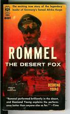 ROMMEL THE DESERT FOX by Young, rare US Berkley WW2 Afrika Korps pulp vintage pb