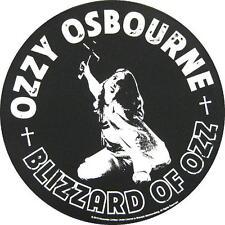 OZZY OSBOURNE RÜCKENAUFNÄHER / BACKPATCH # 2 BLIZZARD OF OZZ - 29cm
