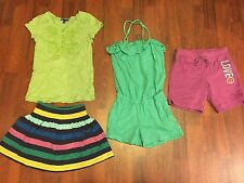 Girls Gap Kids Size Small S 6-7 T-Shirt Tops Romper Shorts Skirt Lot