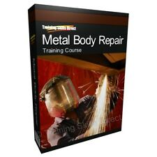 Learn Metal Body Repair Car Auto Spray Maintenance Training Course Manual Guide